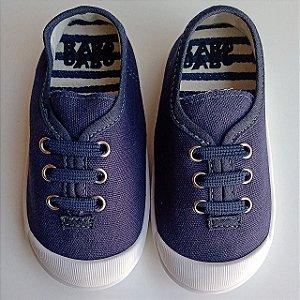 Tênis Infantil Babo Uabu Com Cadarço Elástico Azul