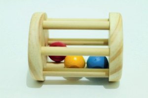 Chocalho Bolinhas Coloridas Montessoriana