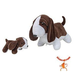 Beagle Grávida com 1 Filhote