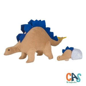 Estegossaura Grávida com 1 Filhote