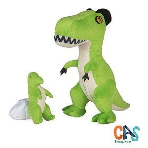 T-Rex Grávida com 1 Filhote