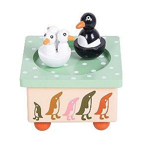 Caixa de Musica Pinguins