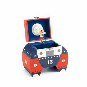 Caixa de Música Foguete -Djeco