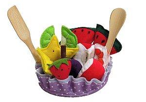 Salada de Frutas em tecido