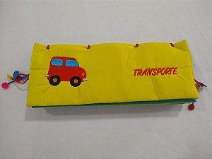Livro de Tecido Transportes