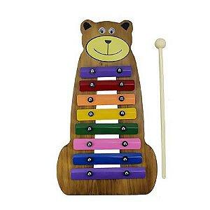 Metalofone Urso