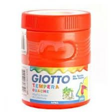 Tempera Guache Giotto 250ML Vermelho Fogo