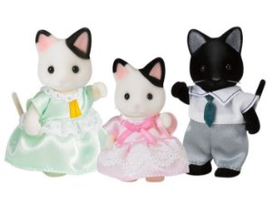 Familia dos Gatos Malhados