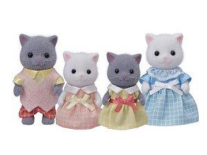 Familia dos Gatos Persas