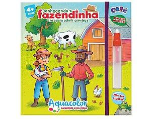Livro Aquacolor Conhecendo a Fazendinha