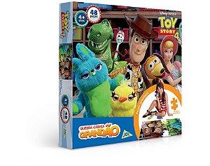 Quebra-Cabeça 48 peças Grandão Toy Story 4