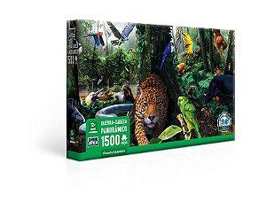 Quebra-Cabeça 1500 peças Floresta Amazônica