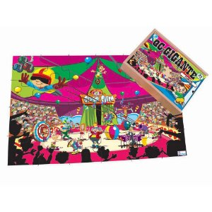 Quebra-Cabeça Infantil Gigante Circo 12 peças