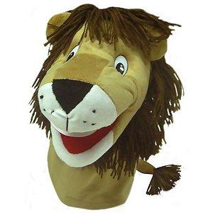 Fantoche Leão em Tecido