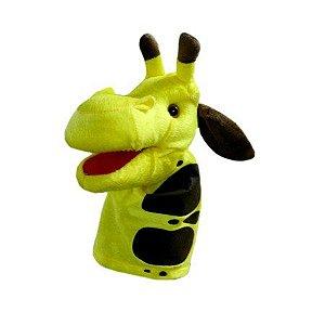 fantoche Girafa em tecido