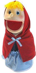 Fantoche Chapeuzinho Vermelho em Tecido