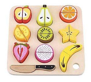 Brincando de Cortar Frutas