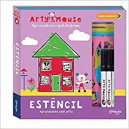 Arty Mouse Estêncil