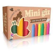 Mini Giz com 12 Cores