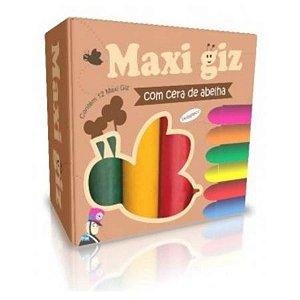 Maxi Giz de Cera com 12 Cores