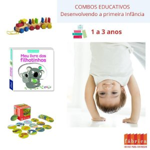Combo Educativo XIV 1 a 3 Anos