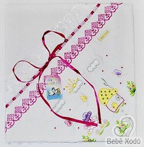 Manta de Pique - Rosa Pink