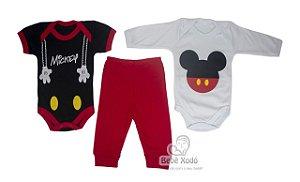 Body kit com 3 peças Mickey