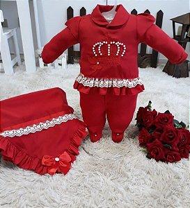 Saída de Maternidade  3 peças Carolina
