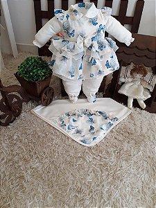 Saída de maternidade 4 peças
