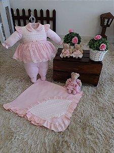 Saída de Maternidade Bruna - 4 Peças