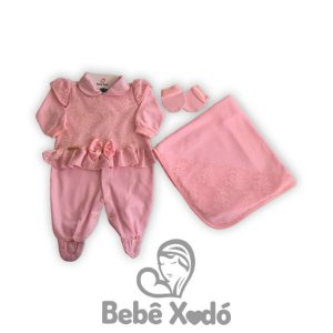 Saída de maternidade Yara - 3 Peças