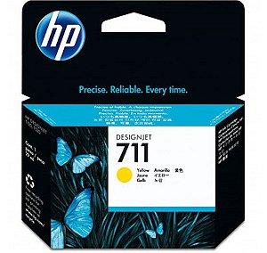 HP 711 Amarelo PLUK 29ml (3 unid)