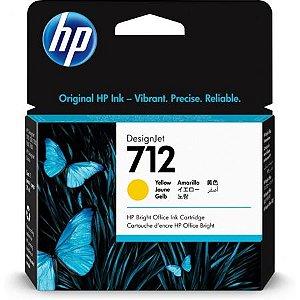 HP 712 Amarelo PLUK 29ml