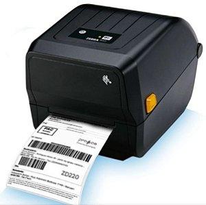 Impressora Térmica De Etiquetas Zebra Zd220 203dpi Usb