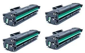 4X Toner Samsung D101 - MLT 2165/SCX 3405