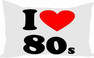 Almofada I Love The 80's