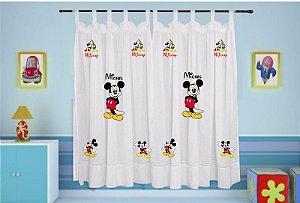 Cortina Infantil Personalizada - Mickey