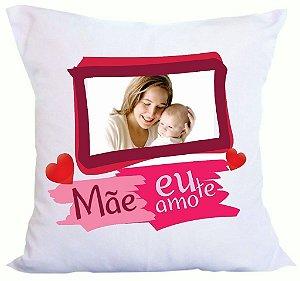 Almofada Personalizada com foto  - Dia das Mães