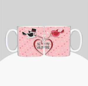 Caneca Dia dos Namorados - Be My Valentine