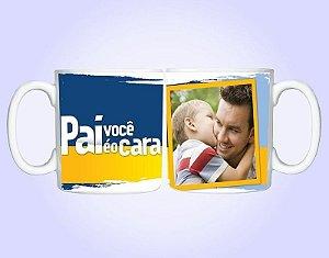 Caneca Dia dos Pais Personalizada Com Foto