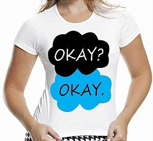 Camiseta A Culpa É das Estrelas Okay Okay
