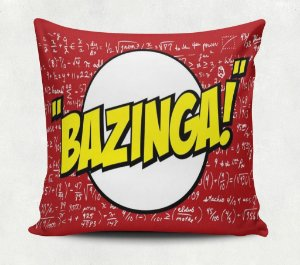 Almofada Bazinga The Big Bang Theory