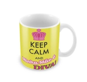 Caneca Dia das Mães Keep Calm And