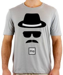 Camiseta Breaking Bad Heinsenberg
