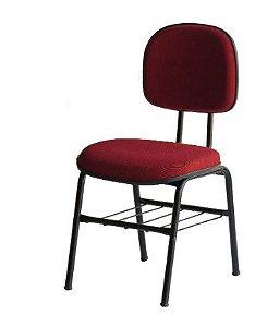 Cadeira Secretaria  Fixa com Gradil .