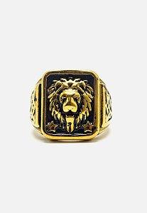 Anel Kodo Acessórios Leão Imperial