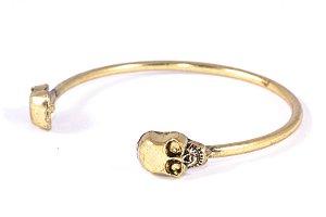 Bracelete Crânio Caveira REF P311