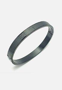 Bracelete Kodo Acessórios Pai nosso Preto