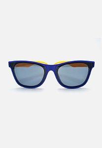 Óculos Infantil Kodo Acessórios Classico Azul e Amarelo
