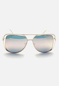 Óculos Kodo Acessórios Aviador Rosa